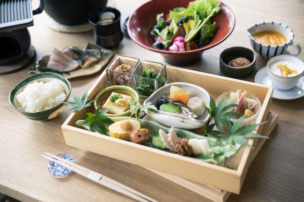 宮島離れの宿IBUKU朝食イメージ画像