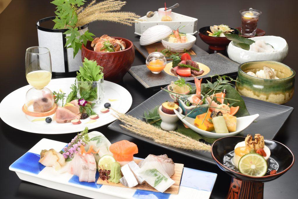 宮島離れの宿IBUKU夕食イメージ画像