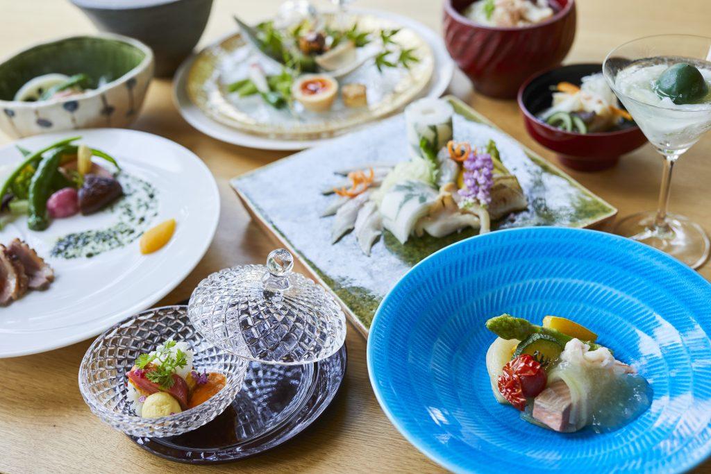 宮島離れの宿IBUKU料理