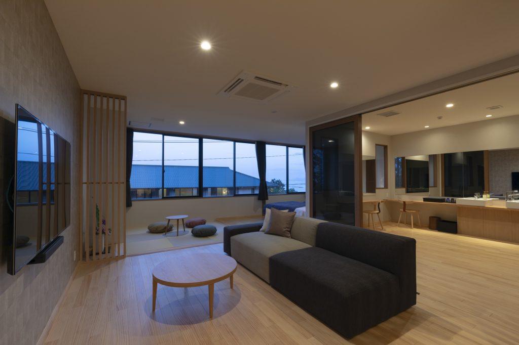 宮島離れの宿IBUKU本館和洋室