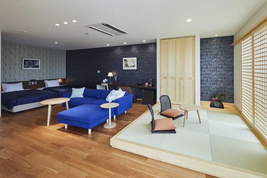 宮島離れの宿IBUKU別邸「藍」