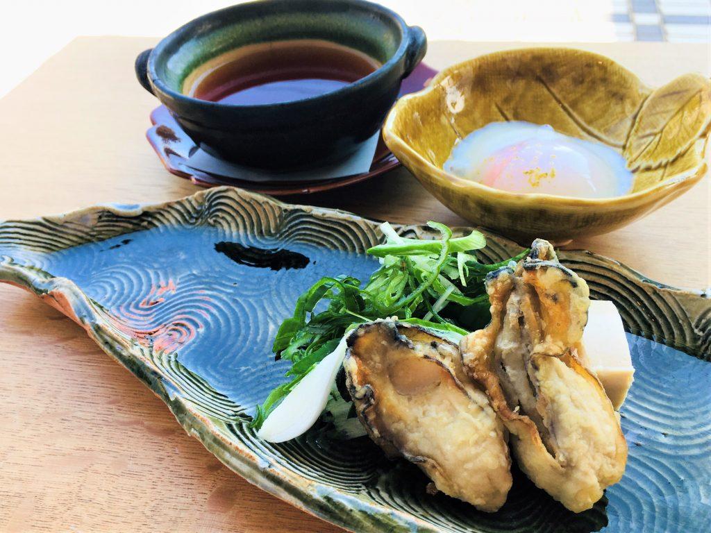 牡蠣すき煮鍋